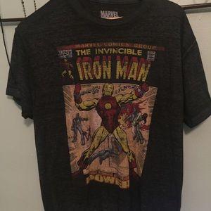 Marvel comics iron man T-shirt